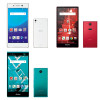 価格比較!! 各社 2015 夏モデル スマホ Xperia Z4, A4 / Arrows / AQUOS / HTC J Butterfly etc..